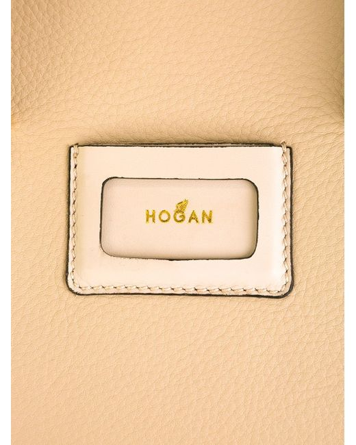 Сумка-Тоут С Логотипом Hogan                                                                                                              Nude & Neutrals цвет