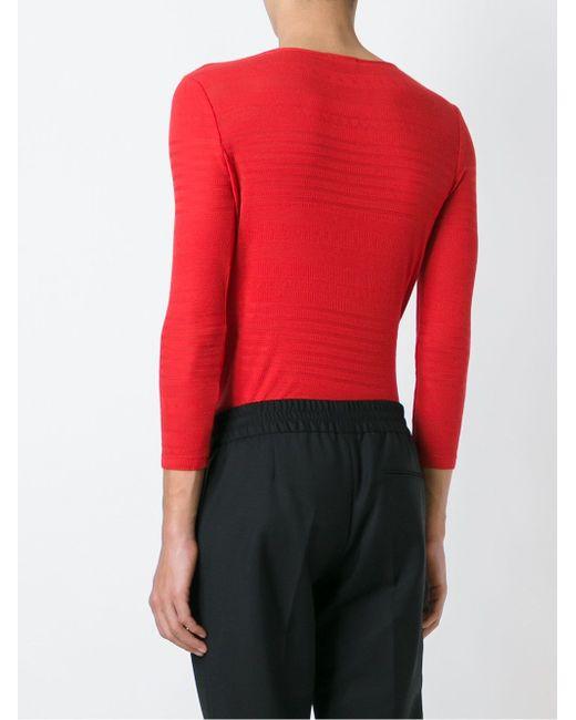 Carla Mariniere Sweatshirt A.P.C.                                                                                                              красный цвет