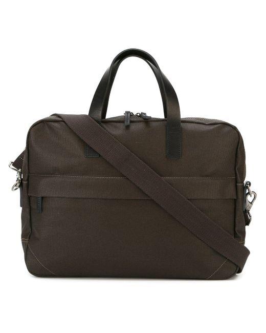 Robin Canvas Briefcase Ally Capellino                                                                                                              коричневый цвет