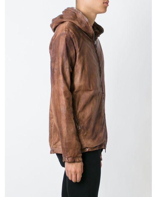 Куртка С Капюшоном Giorgio Brato                                                                                                              коричневый цвет