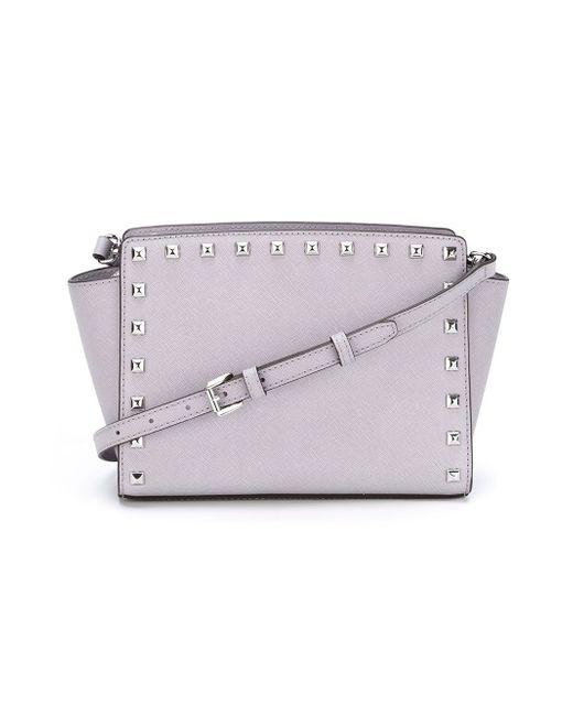 Medium Selma Crossbody Bag Michael Michael Kors                                                                                                              розовый цвет