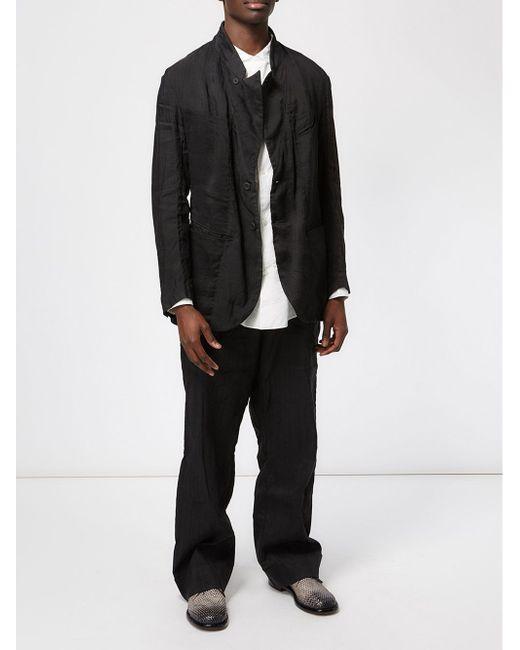 Однобортный Пиджак ZIGGY CHEN                                                                                                              чёрный цвет