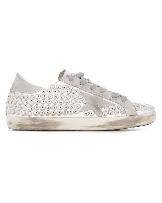 Super Star Sneakers Golden Goose                                                                                                              белый цвет