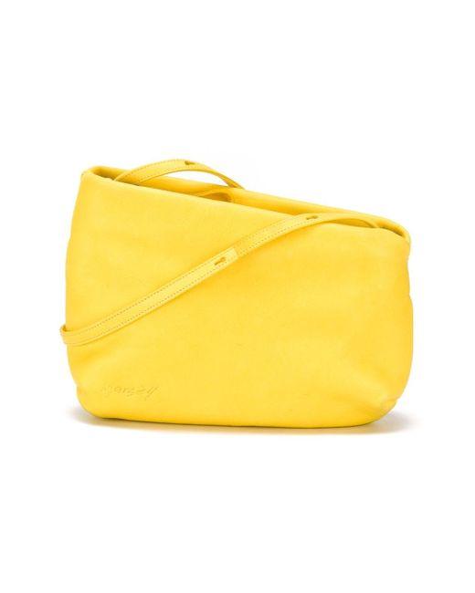 Асимметричная Сумка Через Плечо Marsell                                                                                                              желтый цвет