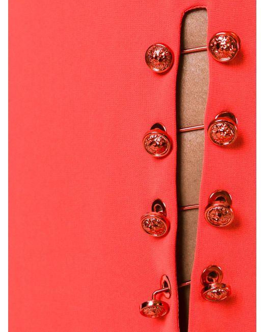 Pinned Slit Short Skirt Versus                                                                                                              красный цвет