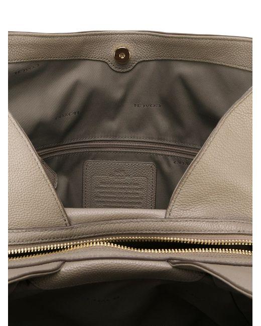 Сумка-Хобо COACH                                                                                                              серый цвет