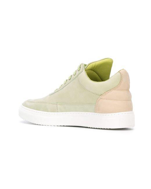 Low Top Sneakers Filling Pieces                                                                                                              зелёный цвет