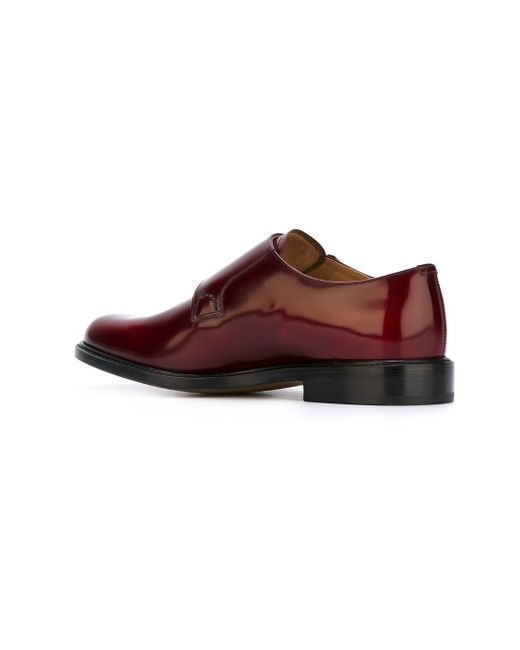 Туфли-Монки Church'S                                                                                                              красный цвет