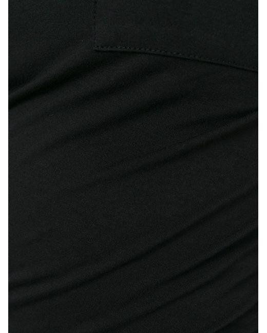 Топ С Перекрученным Эффектом T By Alexander Wang                                                                                                              чёрный цвет