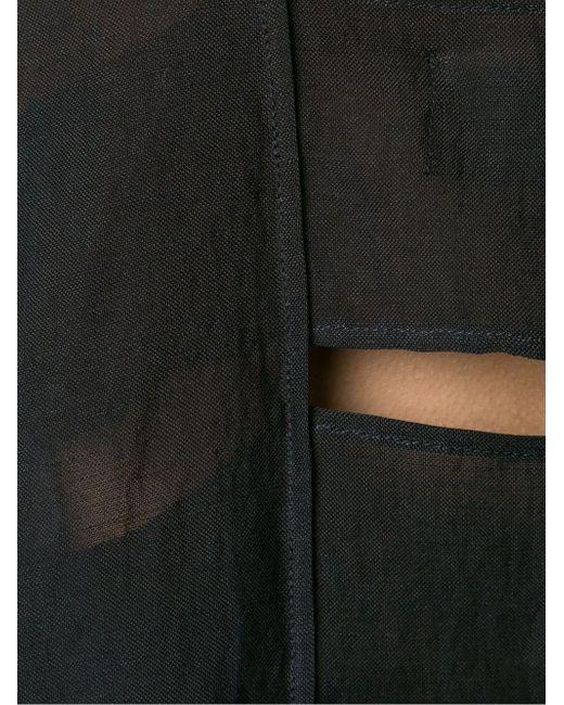 Draped Top LOST AND FOUND                                                                                                              чёрный цвет