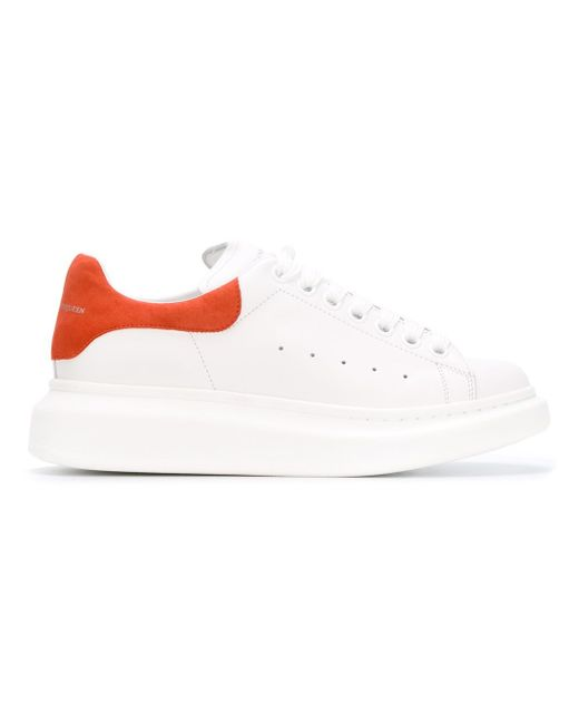 Larry Extended Sole Sneakers Alexander McQueen                                                                                                              белый цвет