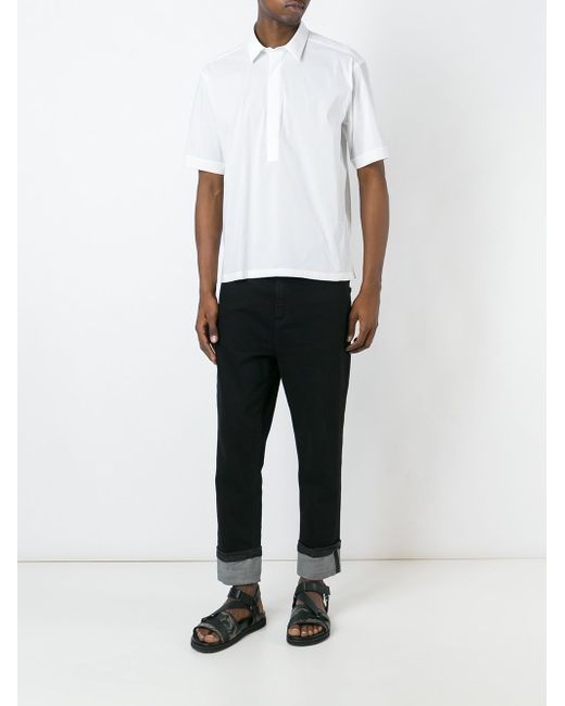 Short Sleeve Shirt Paolo Pecora                                                                                                              белый цвет