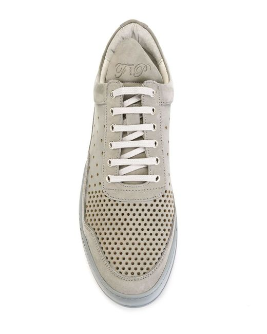 Perforated Sneakers Filling Pieces                                                                                                              серый цвет