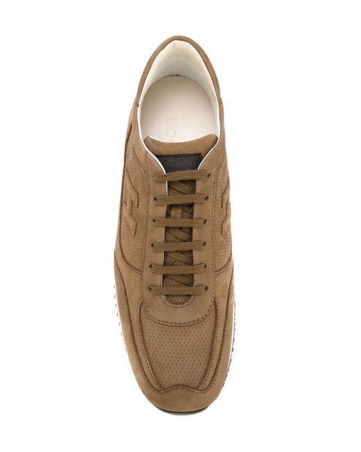 Interactive Sneakers Hogan                                                                                                              коричневый цвет
