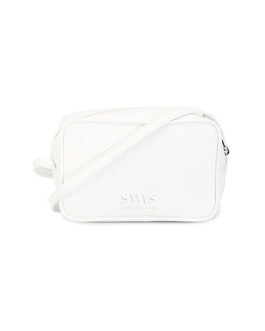 Anna Shoulder Bag SAVAS                                                                                                              белый цвет