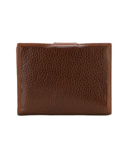 Классический Бумажник Celine Vintage                                                                                                              коричневый цвет