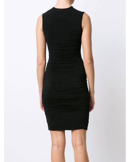 Wrinkled Dress The Row                                                                                                              чёрный цвет
