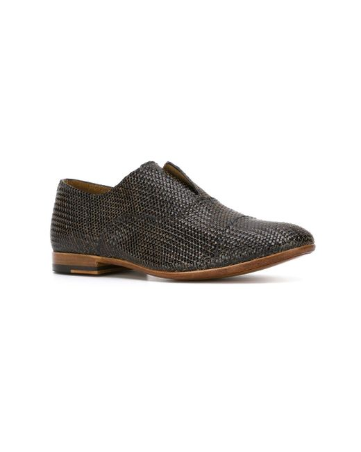 Woven Laceless Shoes Raparo                                                                                                              чёрный цвет