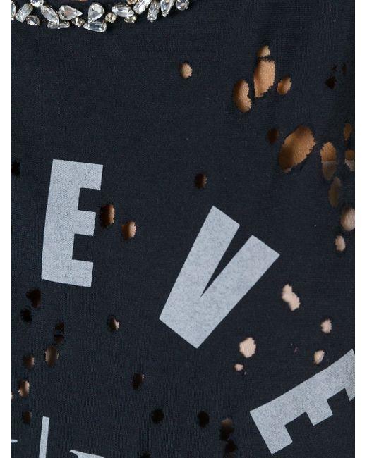 Tissue Tank Top Philipp Plein                                                                                                              чёрный цвет