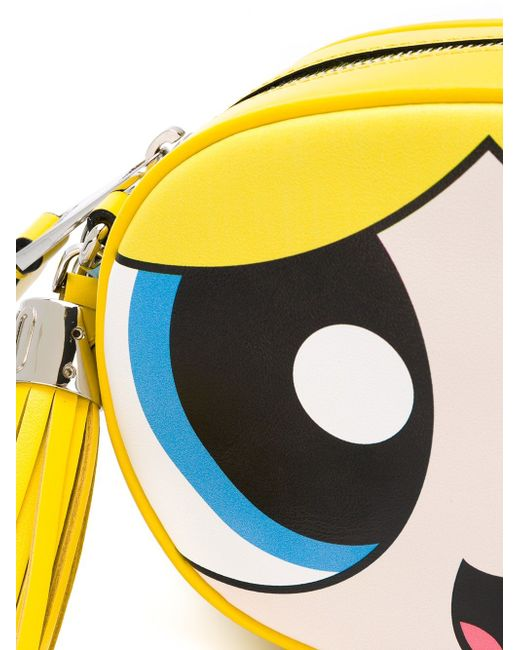 Powerpuff Girls Crossbody Bag Moschino                                                                                                              желтый цвет