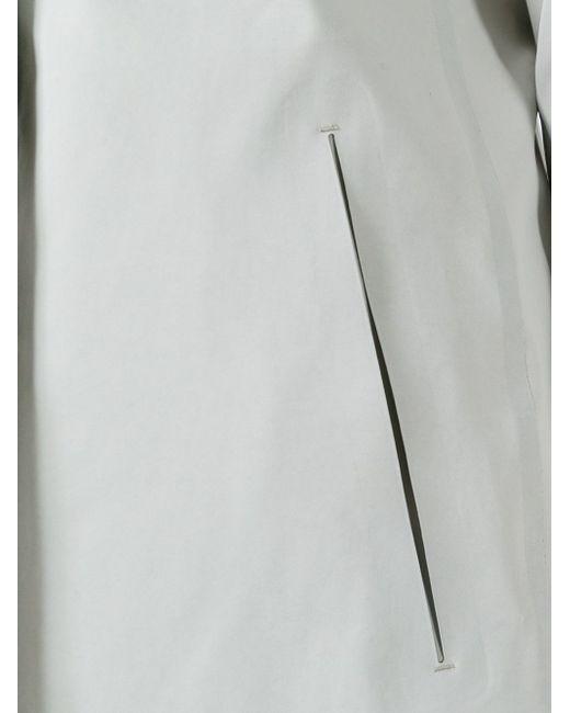 Классический Плащ Herno                                                                                                              серый цвет