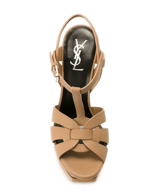 Tribute Sandals Saint Laurent                                                                                                              Nude & Neutrals цвет