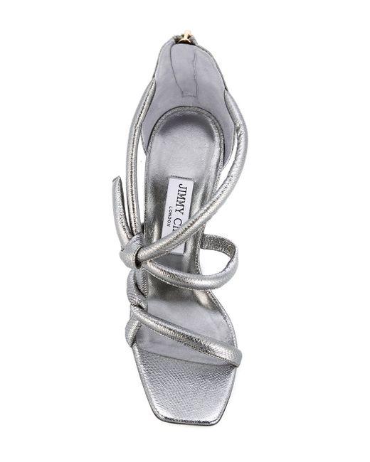 Kissy Sandals Jimmy Choo                                                                                                              серебристый цвет