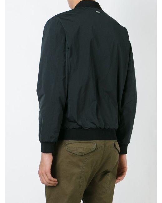 Классическая Куртка-Бомбер Dsquared2                                                                                                              чёрный цвет
