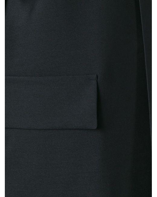 Пальто На Пуговицах 08SIRCUS                                                                                                              чёрный цвет