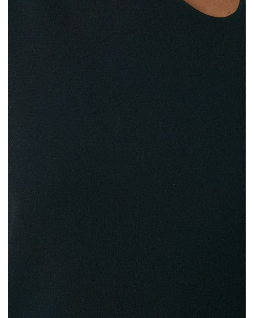 Irregular Neckline Dress Victoria Beckham                                                                                                              чёрный цвет
