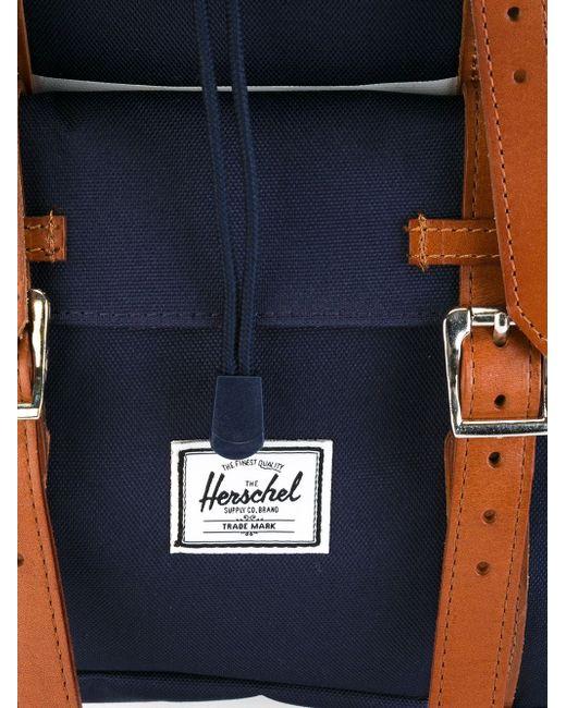 Striped Backpack Herschel Supply Co.                                                                                                              синий цвет