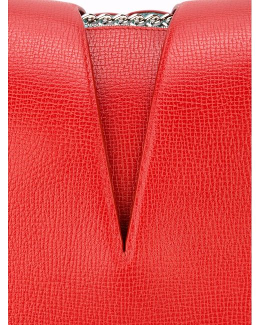 Сумка С Вырезной Деталью Jil Sander                                                                                                              красный цвет