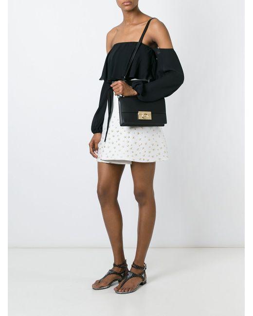 Aileen Shoulder Bag Salvatore Ferragamo                                                                                                              чёрный цвет