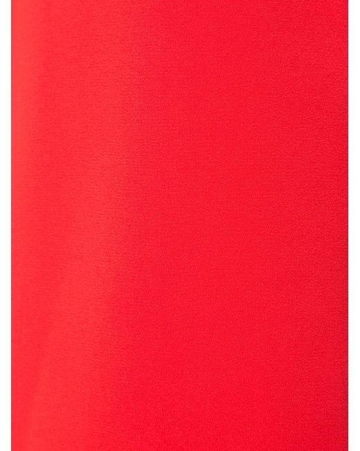 Angelica Long Vest Alice + Olivia                                                                                                              красный цвет