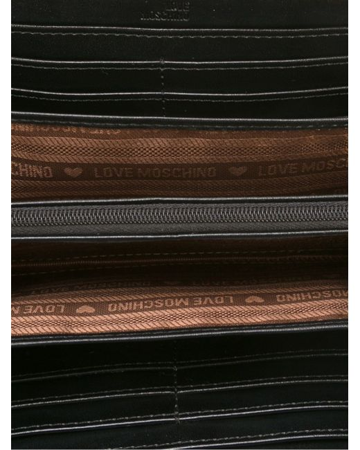 Patched Wallet Love Moschino                                                                                                              чёрный цвет