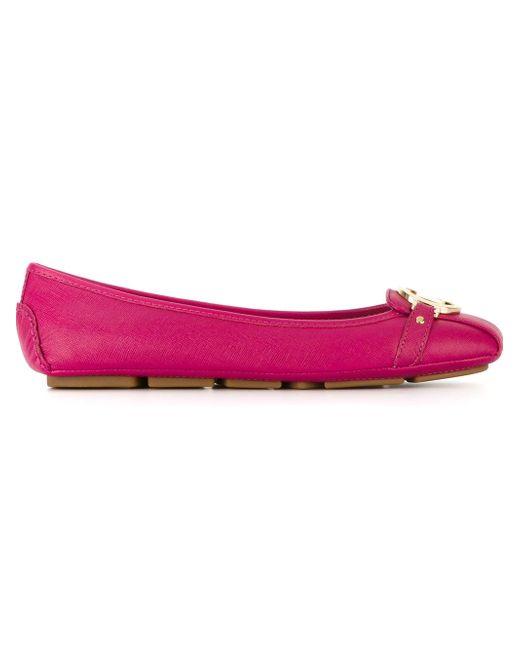 Балетки Fulton Michael Michael Kors                                                                                                              розовый цвет