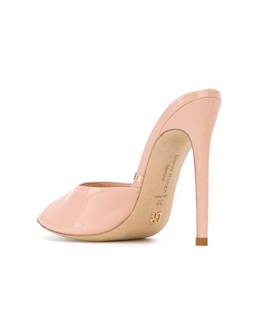 Stiletto Mules GIANNI RENZI                                                                                                              розовый цвет