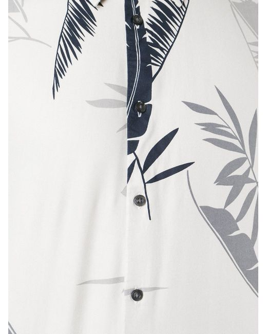 Рубашка С Принтом Пальм Diesel                                                                                                              Nude & Neutrals цвет
