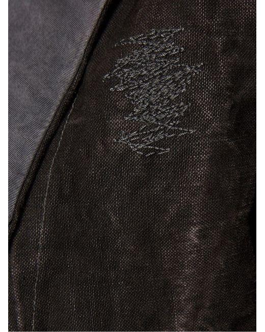 Укороченный Блейзер GREG LAUREN                                                                                                              серый цвет