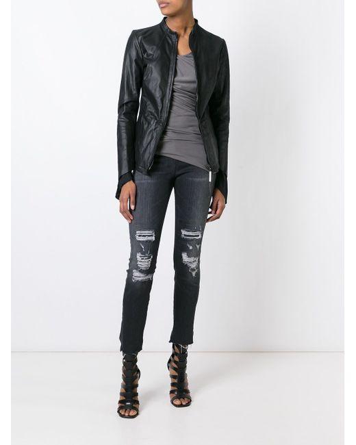 Tenace Zipper Jacket Isaac Sellam Experience                                                                                                              чёрный цвет