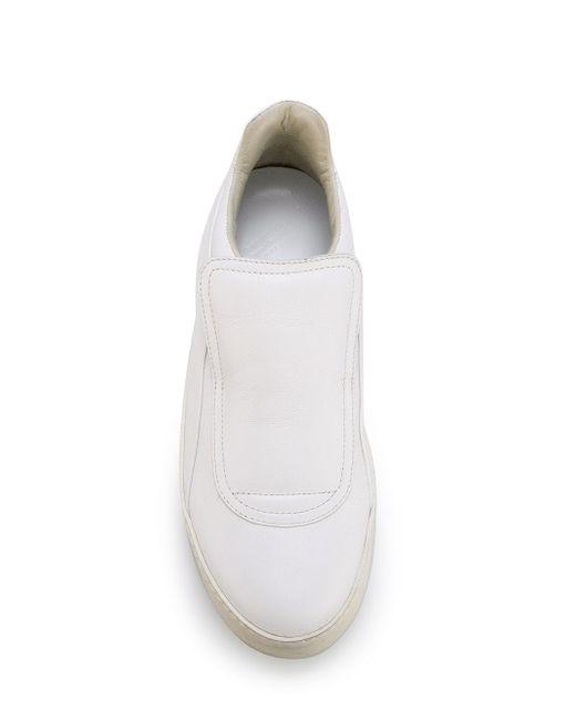 Кеды С Объемным Язычком Maison Margiela                                                                                                              белый цвет