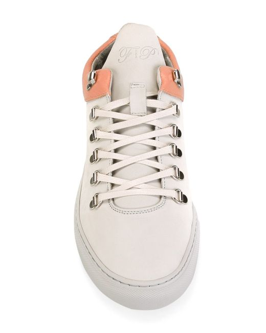 Mountain Cut Sneakers Filling Pieces                                                                                                              серый цвет