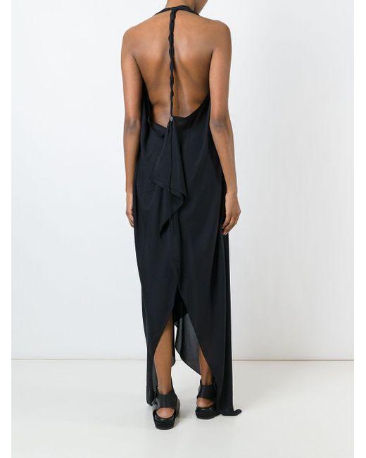 Расклешенное Платье С Вырезом-Халтер Lost & Found Ria Dunn                                                                                                              чёрный цвет
