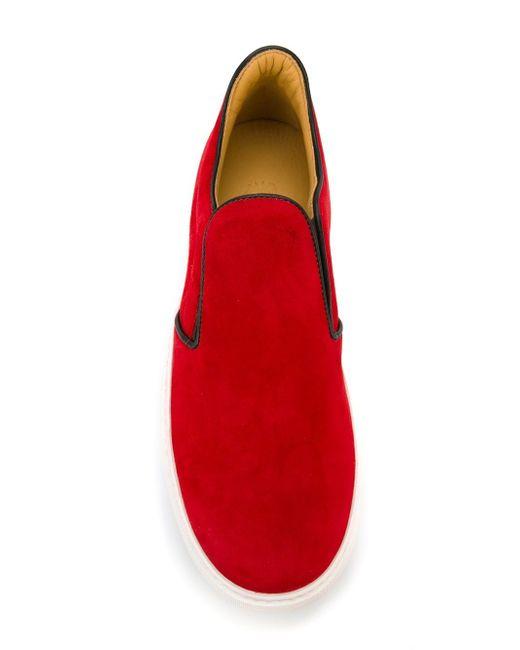 Кеды Llewelyn Mr.Hare                                                                                                              красный цвет