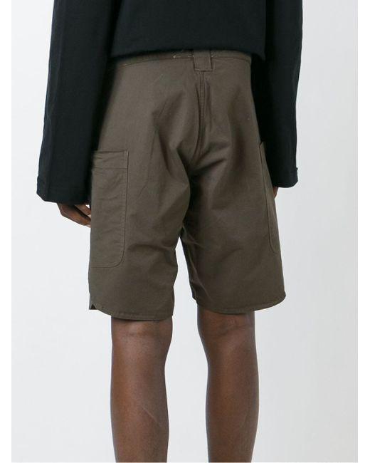 Open Side Shorts Telfar                                                                                                              серый цвет