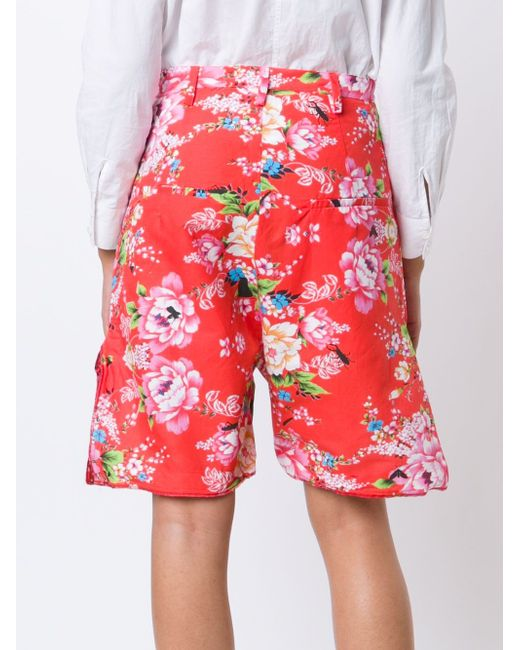 Pattern Metal Bon Bon Shorts AREA DI BARBARA BOLOGNA                                                                                                              красный цвет