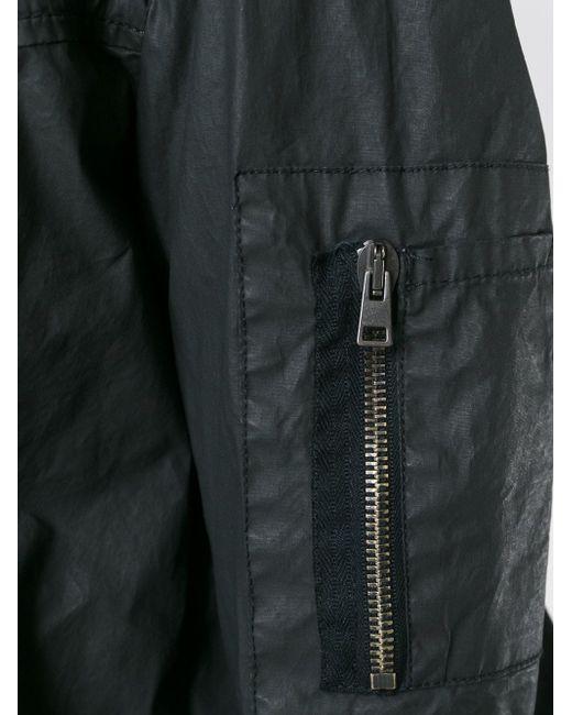 Вощеная Куртка-Бомбер ANDREA YA'AQOV                                                                                                              чёрный цвет