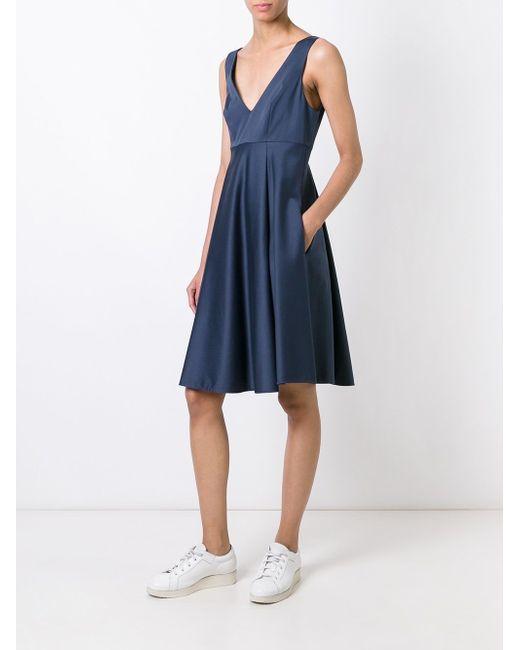 Princess Dress P.A.R.O.S.H.                                                                                                              синий цвет