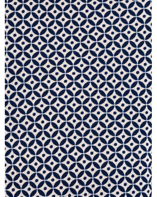 Geometric Effect Tie Canali                                                                                                              синий цвет
