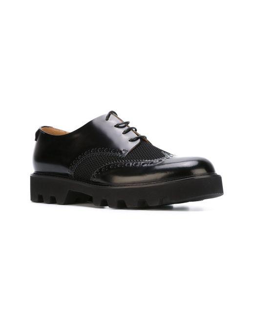 Перфорированные Туфли Emporio Armani                                                                                                              чёрный цвет
